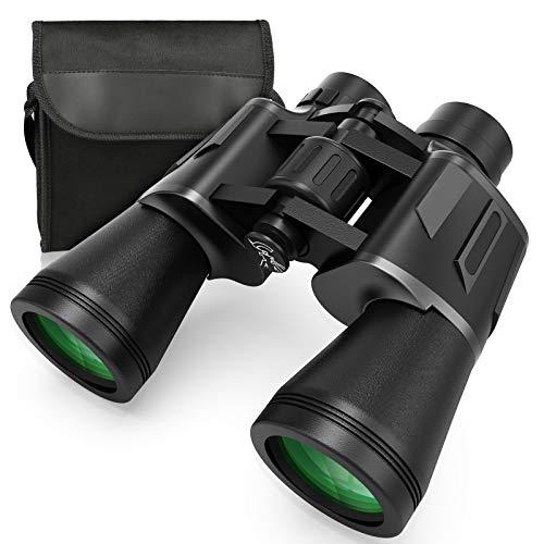 Prismáticos, Zaeel 12x50 Binoculares Profesionales, Telescopio de Prismáticos Compactos e...
