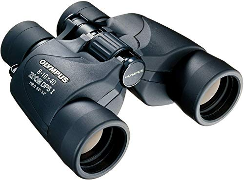 Olympus Prismáticos 8-16 x 40 DPS-I, zoom óptico 8-16x, Negro