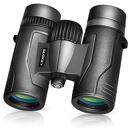 Prismáticos 8x32 Slokey – Súper Ligeros, Pequeños y Compactos con Óptica Superior para...