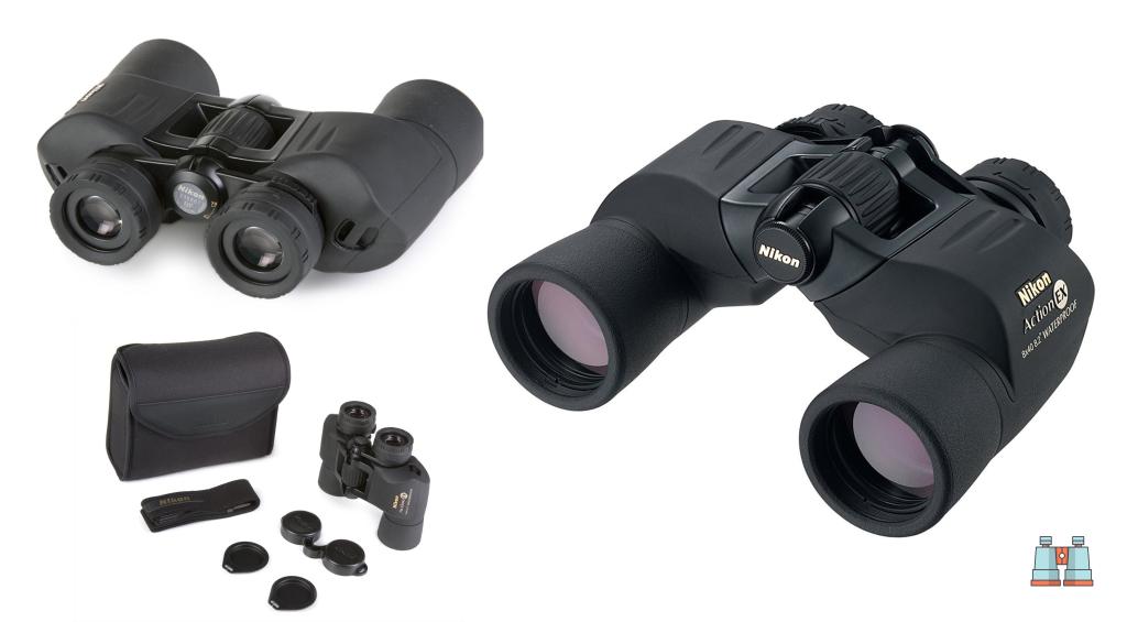 prismaticos para la observación de aves Nikon Action EX 8X40