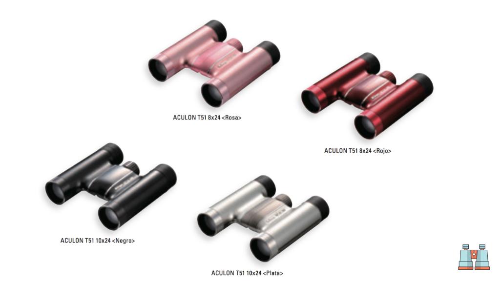 prismaticos Nikon Aculon gama T51