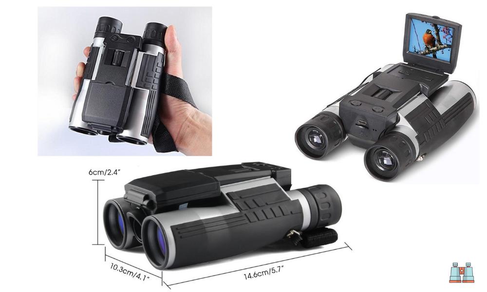 Binocular SGODDE con cámara Digital 2 FHD 12x32