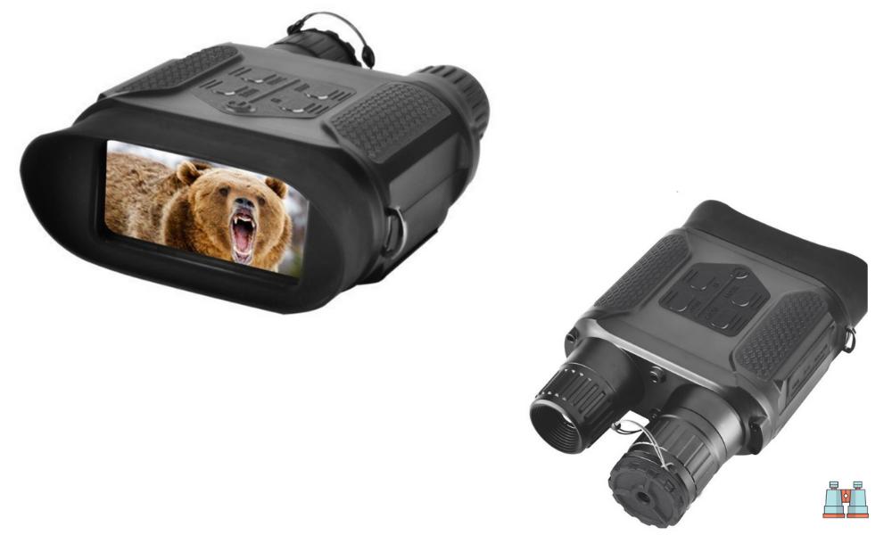 Landove - Binocular de visión Nocturna Digital para Caza 7 x 31 con 2 Pulgadas TFT, LCD HD